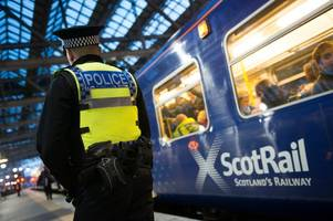 dumbarton commuters left stranded after train driver is spat at