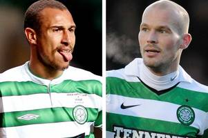 former celtic duo henrik larsson and freddie ljungberg set to go head-to-head in stockholm showdown