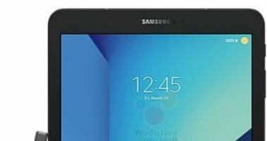 Samsung Galaxy Tab S3 With S Pen Leaks in Photo