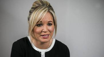 sinn fein 'will not back foster in executive office while cloud hangs over her'