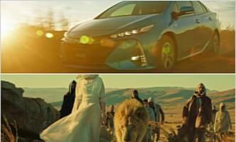 2017 Toyota Prius PHV Launched in Japan, Drives in African Savanna
