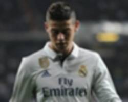 'james doesn't have the personality required for real madrid'