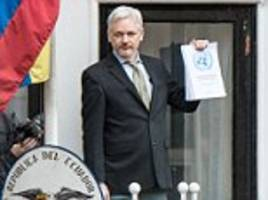 julian assange says intruder tried to get into   embassy
