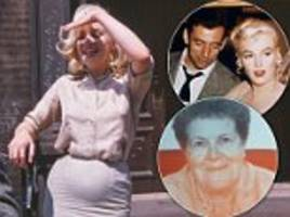 Never-before-seen pictures of pregnant Marilyn Monroe