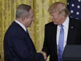 Trump tells Bibi he wants to make a deal on settlements