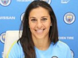manchester city sign world player of the year carli lloyd