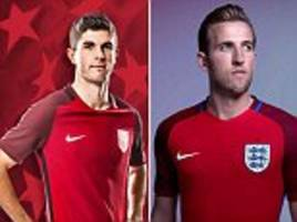 usa launch 2017 kit and it's similar to england's strip