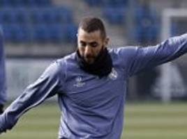 Zinedine Zidane backs Karim Benzema to beat drought