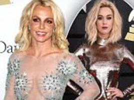 Britney Spears 'hits back' at Katy Perry with bible verse