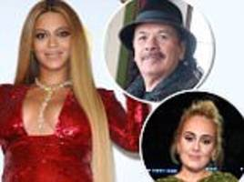 carlos santana slams beyonce after lost grammy to adele