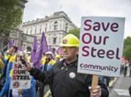 thousands of tata steel workers to accept cuts to pensions