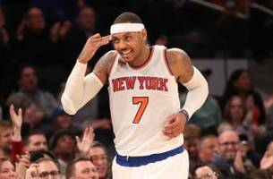 Carmelo Anthony says he expects to stay with Knicks through the NBA trade deadline