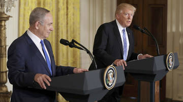 trump, netanyahu highlights: hold back on settlements, both one or two-state deals are acceptable