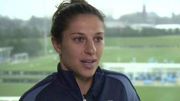 carli lloyd: usa star relishes 'unique opportunity' at manchester city women