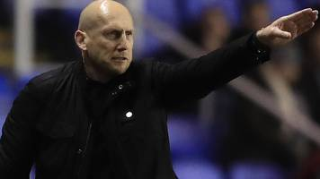 jaap stam: reading boss 'took risk' with triple-substitution against brentford