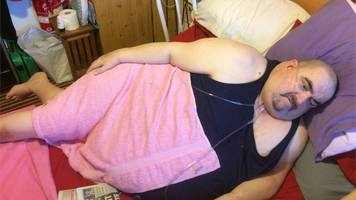 Cancer patient 'stuck like beached whale' after 'drop'