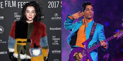 listen to st. vincent's prince tribute radio show