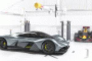 aston martin hypercar coming with cosworth v-12, 175-unit production run