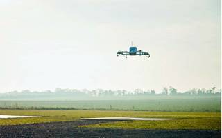 Amazon wants to parachute your packages by delivery drone