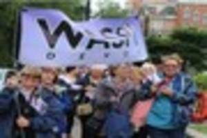 devon women march on westminster demanding changes to increased...
