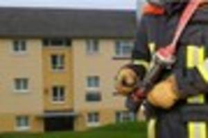 Man rescued and taken to hospital this morning after second  fire...