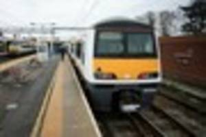 greater anglia service delays as trespasser removed from line...