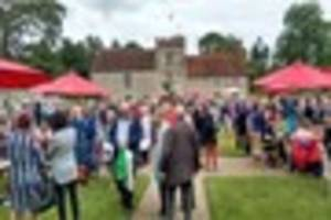 the bbc's antiques roadshow filmed at ightham mote is finally...