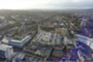 See Redhill from above in these images taken by drone in Surrey...