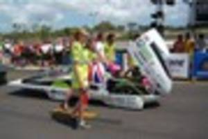 Local girl competing in World Solar Challenge