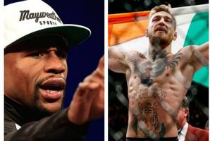 Floyd Mayweather tells Conor McGregor 'have your people get in touch with mine' as billion dollar fight edges closer