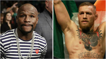 Floyd Mayweather v Conor McGregor: American reignites talk of potential bout