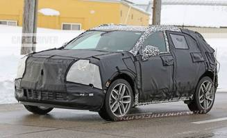 2018 cadillac xt3 spied lookin' edgy, wedgy, and ready to do compact-crossover battle
