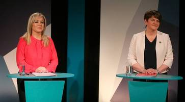 Arlene Foster and Michelle O'Neill clash in TV debate