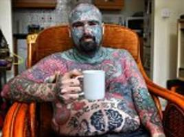 britain's most tattooed was victim of a 'hate crime'