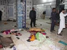 ISIS suicide bomb kills 75 at famed shrine in Pakistan
