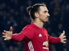 Man United 3-0 St Etienne: Zlatan Ibrahimovic hat-trick