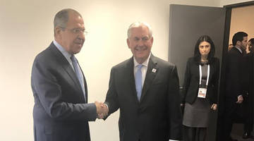 russia's lavrov to tillerson: we do not interfere in the domestic matters of other countries