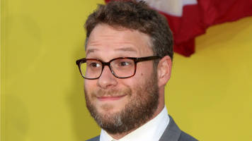 seth rogen is dm-ing donald trump jr. on twitter: 'maybe just ask your dad to go back to hosting game shows?'