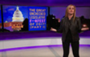 Samantha Bee Calls Paul Ryan The Taylor Swift Of Politicians