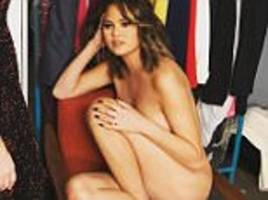 chrissy teigen shares naked instagram snap