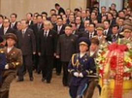 Kim Jong-Un seen for first time since half-brother's death
