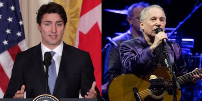 Canadian Prime Minster Justin Trudeau Once Randomly Tweeted That He Hates Paul Simon