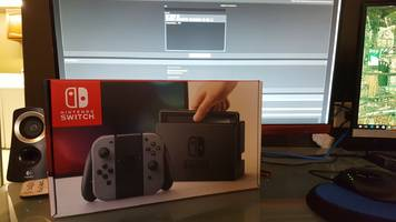 Some poor soul has a Nintendo Switch, but no games
