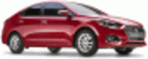 2018 Hyundai Accent debuts at 2017 Canadian auto show