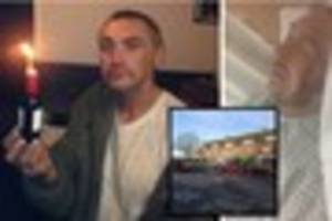 well known exeter homeless man badly injured in hit and run