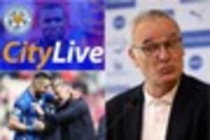 Leicester City news and transfer news LIVE! Press conference day...