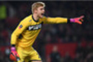 injured stoke city keeper set to be sidelined for 'several weeks'