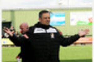 stafford rangers manager neil kitching looking for a positive...