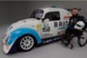 Injured Army veteran Andy launches bid to race at Le Mans