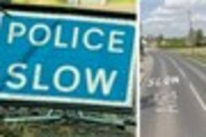 'it looked awful' person taken to hospital after van and car...
